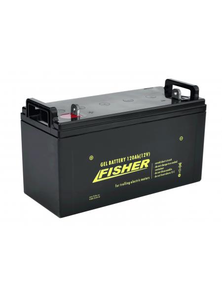 Гелевый аккумулятор 120Ah Fisher 12B
