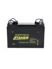 Электромотор Fisher 55 + 2 аккумулятора 80Ah