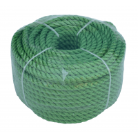 Веревка 30м 8мм, зеленая, полиэстер, универсальная