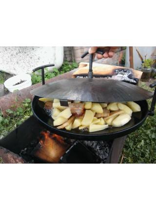 Сковорода с крышкой и чехлом (40см)