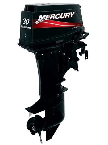 Подвесной мотор Mercury 30 E (2хтактный, мощность 30 л.с.)
