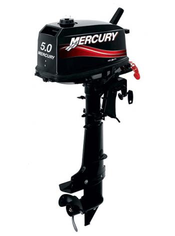 Подвесной мотор Mercury 5 ML (2хтактный, мощность 5 л.с.)