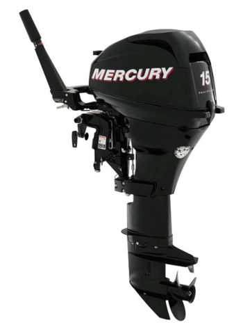 Подвесной мотор Mercury F 15 MH (4хтактный, мощность 15 л.с.)