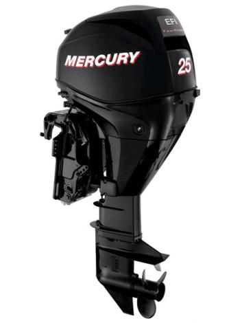 Подвесной мотор Mercury F 25 E EFI (4хтактный, мощность 25 л.с.)