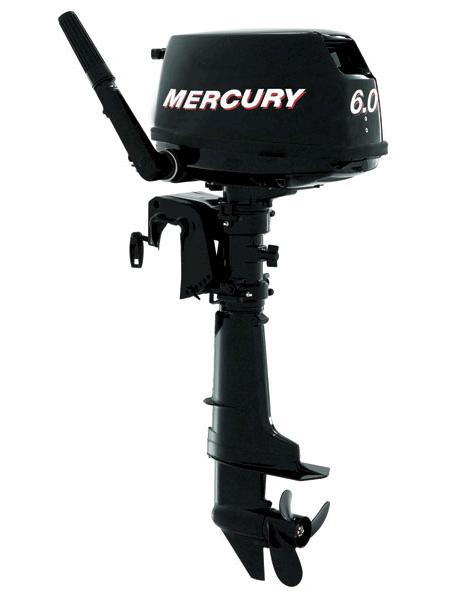 Подвесной мотор Mercury F 6M  (4хтактный, мощность 6 л.с.)