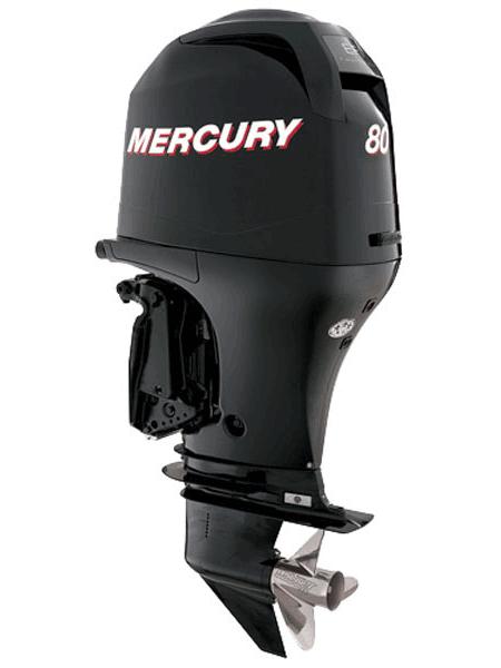 Подвесной мотор Mercury F 80 ELPT EFI (4хтактный, мощность 80 л.с.)